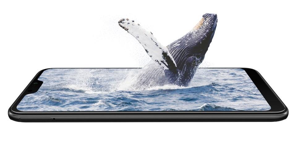 HP Xiaomi Mi A2 Lite layar