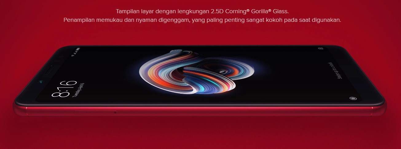 Xiaomi Redmi Note 5 scrreen