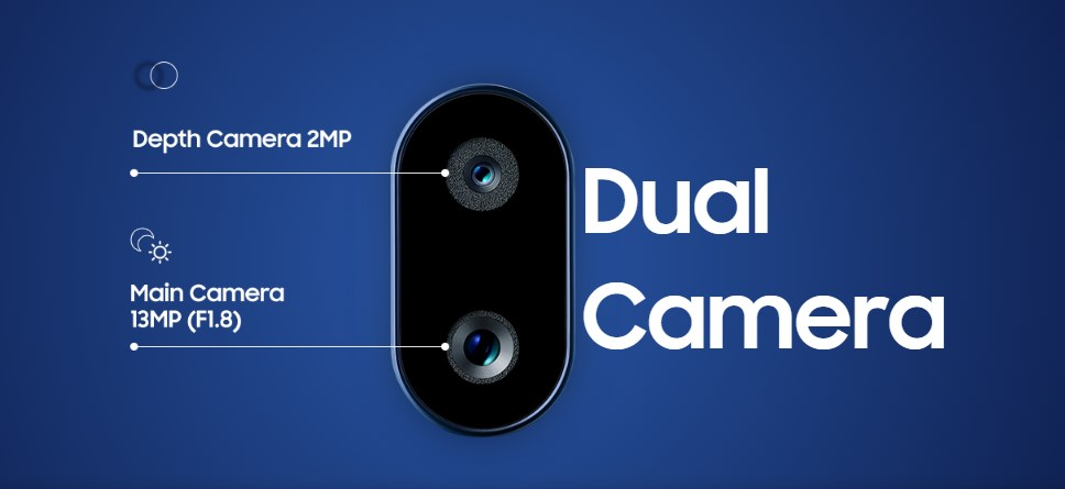 dual kamera samsung a10s