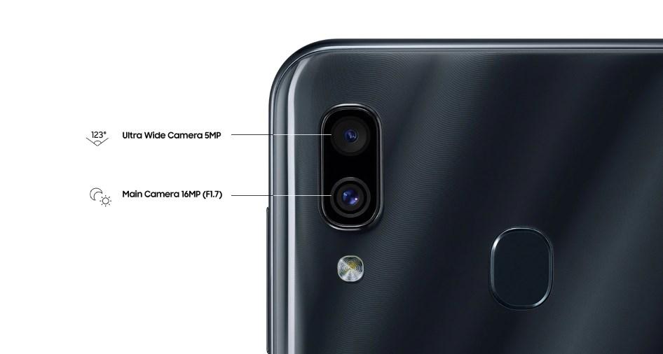 dual kamera samsung galaxy a30
