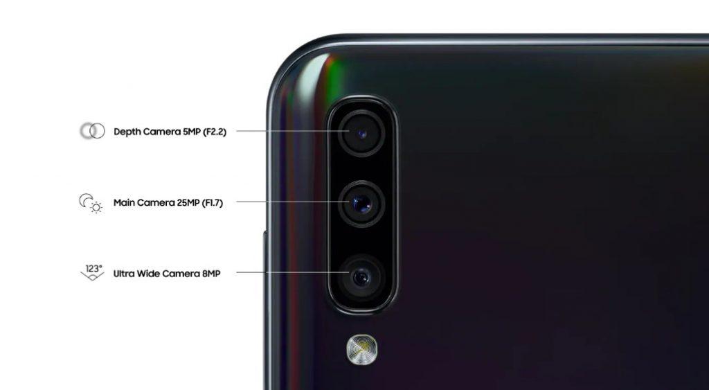 triple kamera samsung A50
