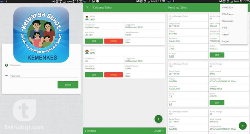 aplikasi keluarga sehat android
