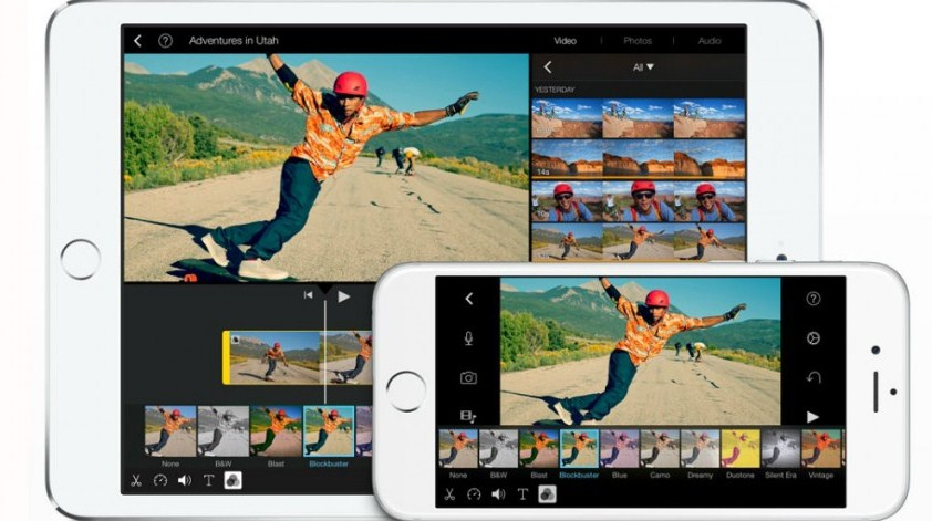 imovie edit video ios iphone