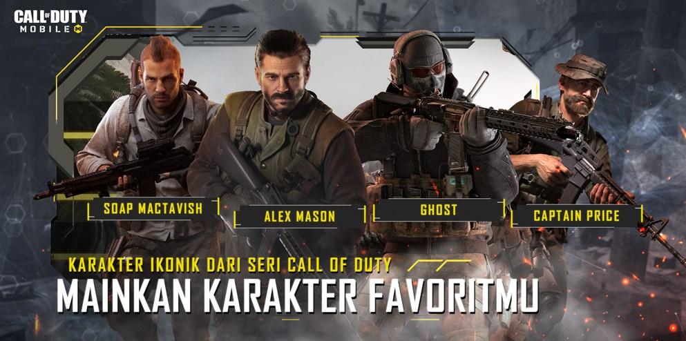 karakter call of duty mobile
