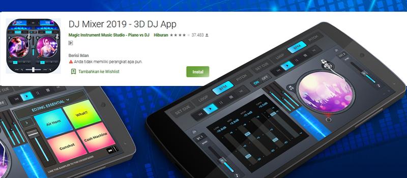3D DJ App android