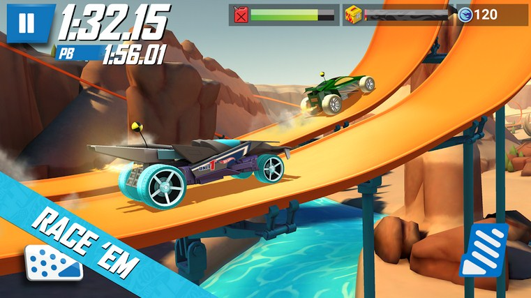 hot wheels android