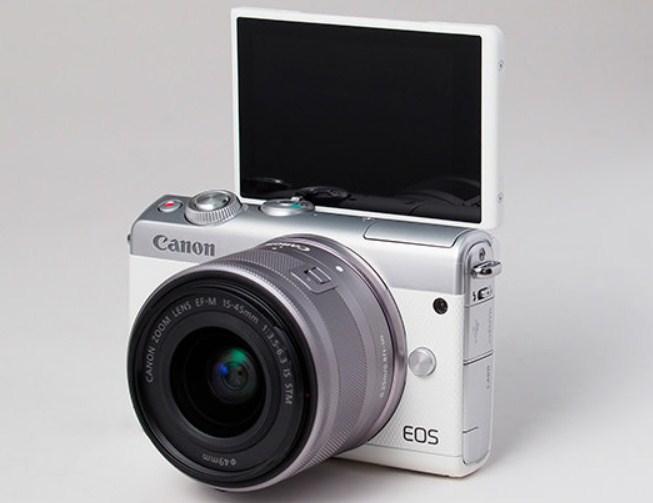 Canon M100 monitor
