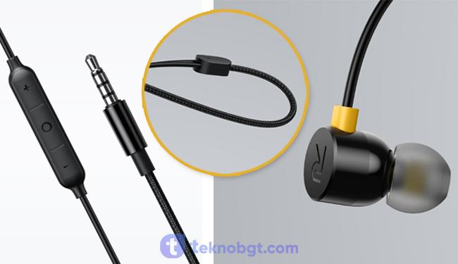 spesifikasi realme buds earphones