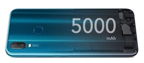 baterai 5000 mah vivo Y11