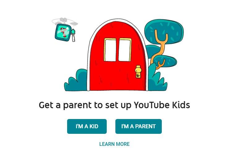 cara setting akun youtube kids
