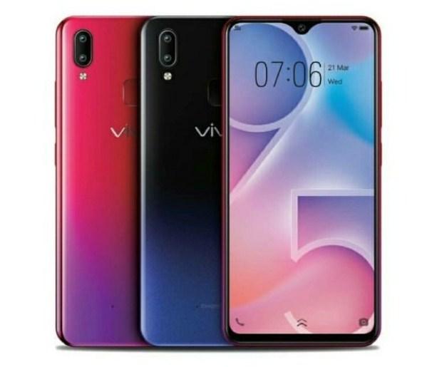 pilihan warna vivo y95