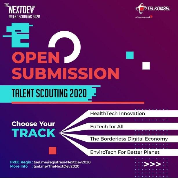 4 kategori the nextdev scouting 2020