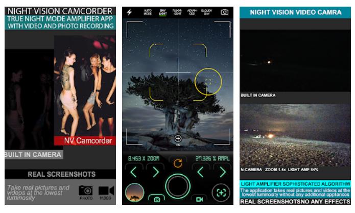 Aplikasi Night Mode Camera camcorder