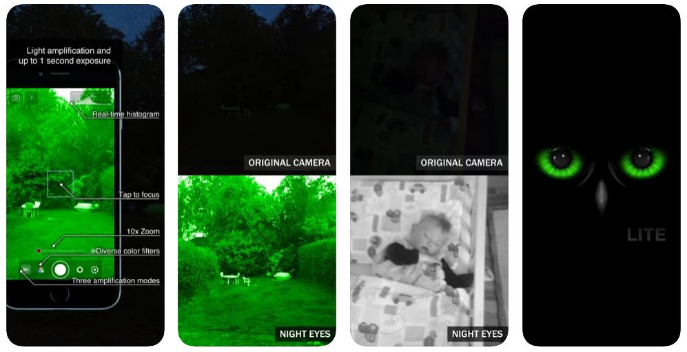 Aplikasi night eyes iphone