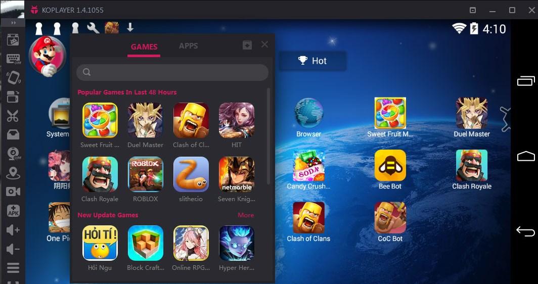 KOPLAYER Emulator Android