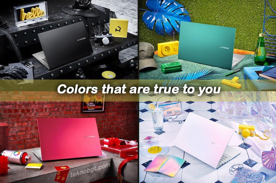 Pilihan Desain Warna Asus VivoBook S14 S433