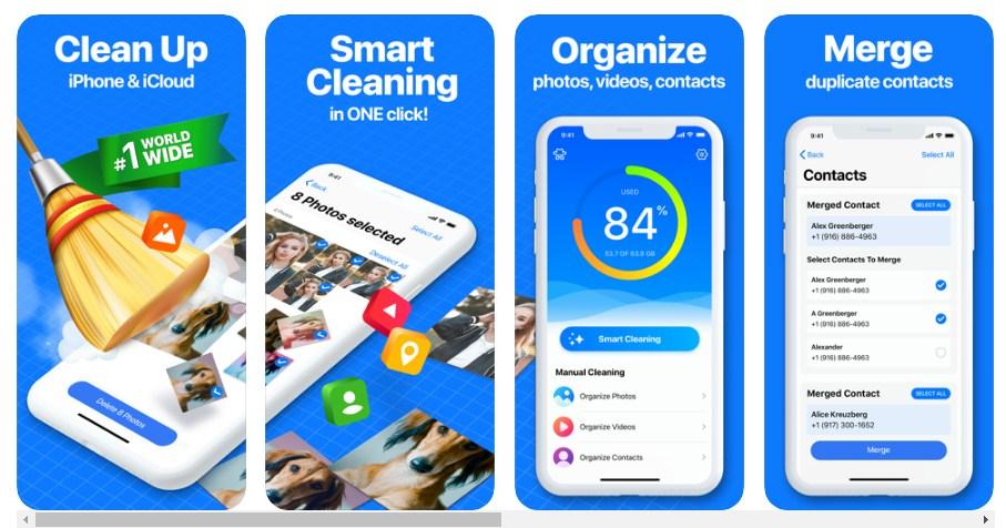 Smart cleaner app ios
