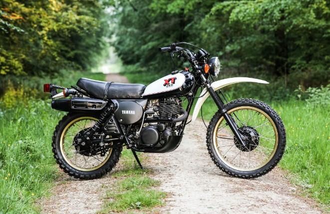 Yamaha Enduro XT 500 1989