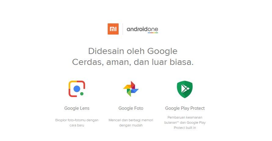 androidone HP Xiaomi Mi A2 Lite
