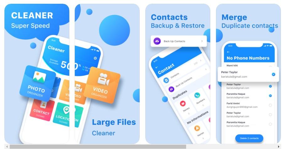 aplikasi master cleaner untuk iphone