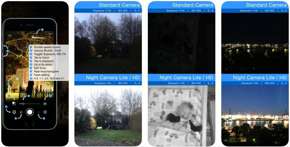 aplikasi night camera iphone