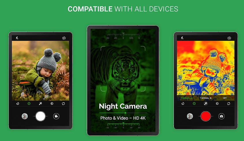 app Night Camera Photo video android