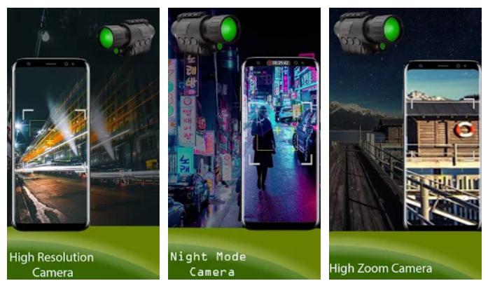 app Night mode Binoculars Zoom HD Camera