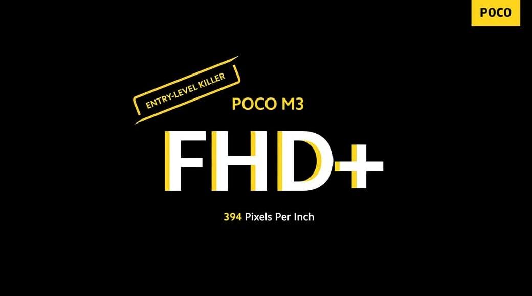 layar poco m3 FHD+