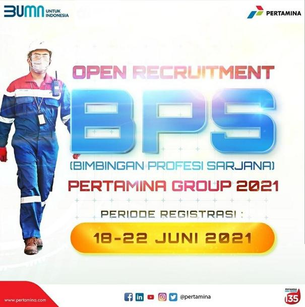 open recruitment BPS PERTAMINA GROUP 2021