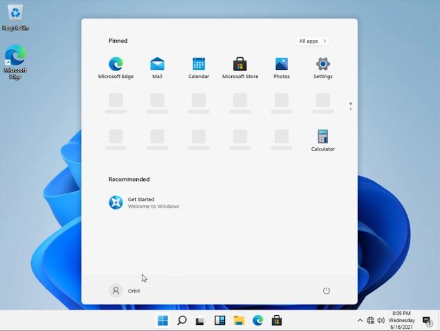 tampilan bilah status windows 11 terbaru