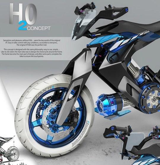 yamaha H20 concept