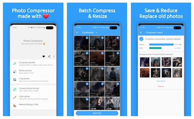 Aplikasi Photo Compressor