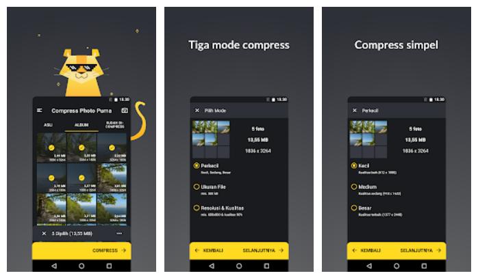 App compression foto terbaik Puma