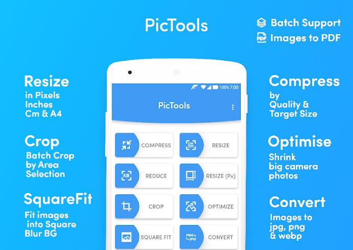 PicTools Batch aplikasi resize kompres foto